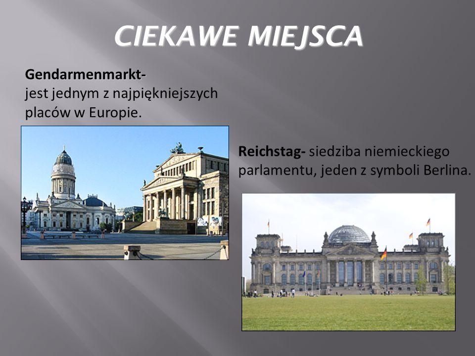 CIEKAWE MIEJSCA Gendarmenmarkt-