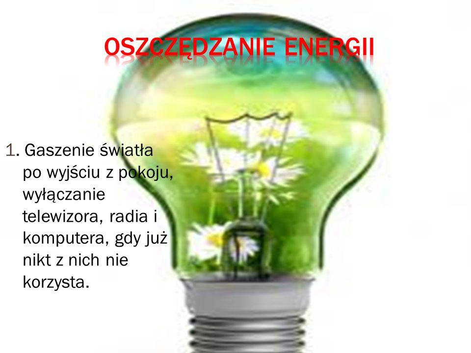 Oszczędzanie energii 1.