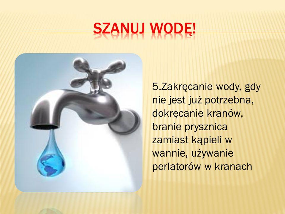 Szanuj wodę!
