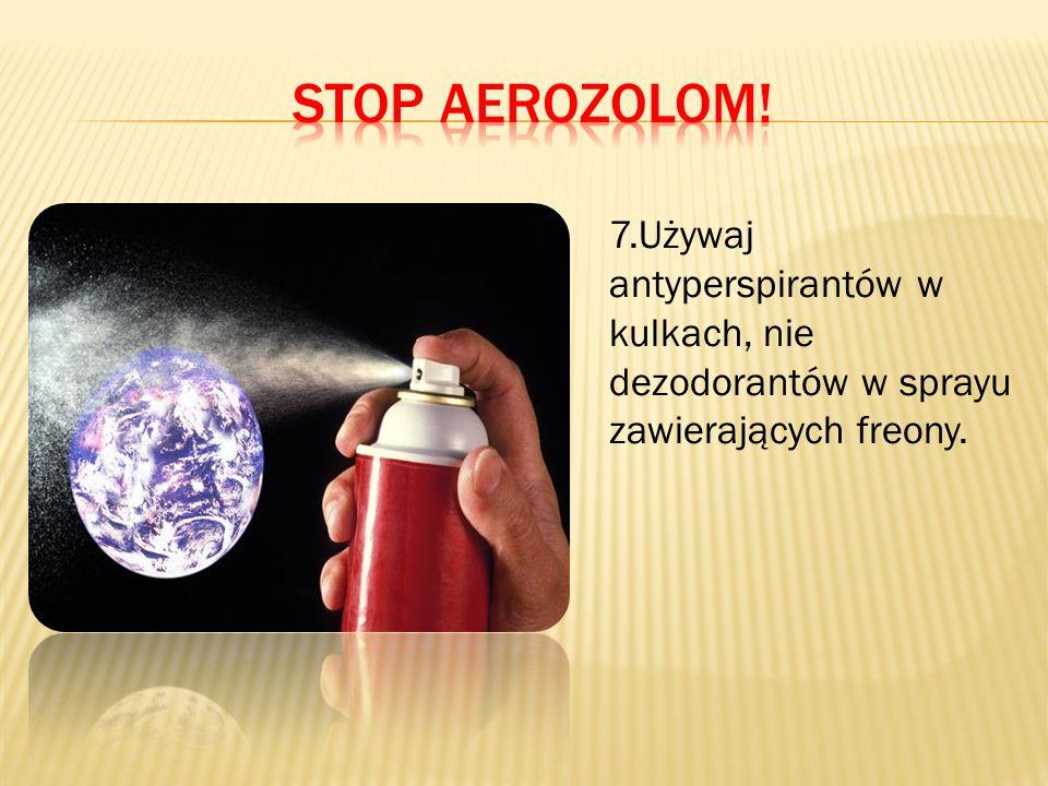 Stop aerozolom.