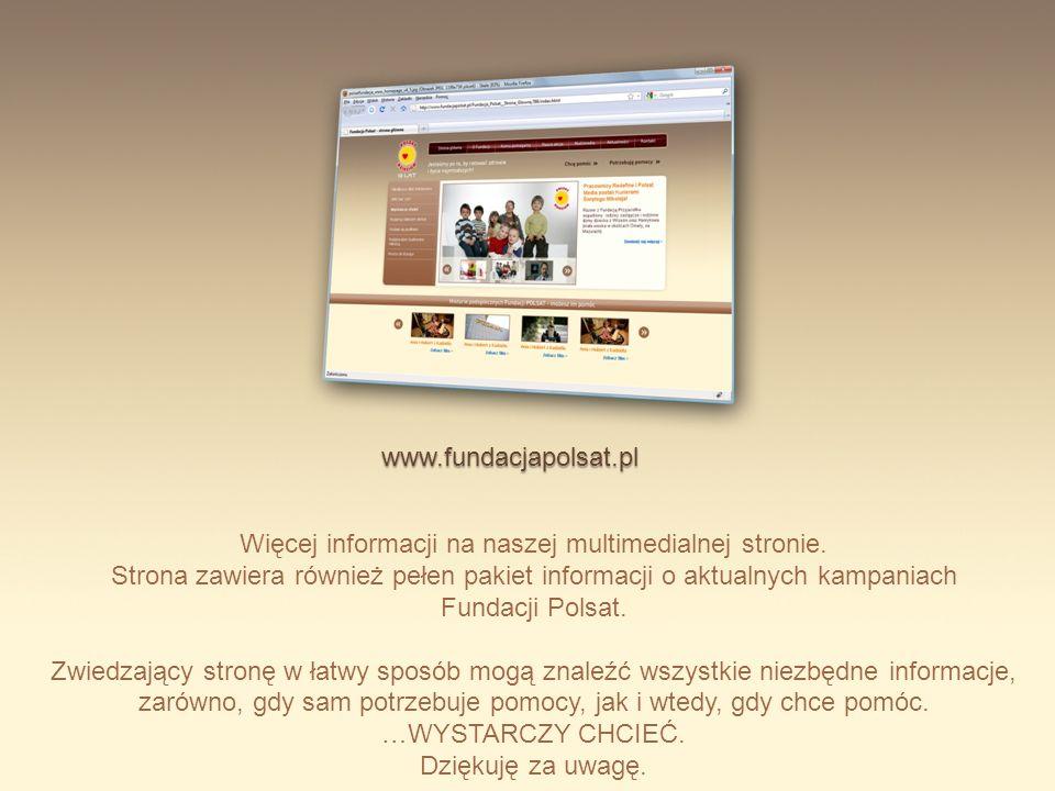 Więcej informacji na naszej multimedialnej stronie.