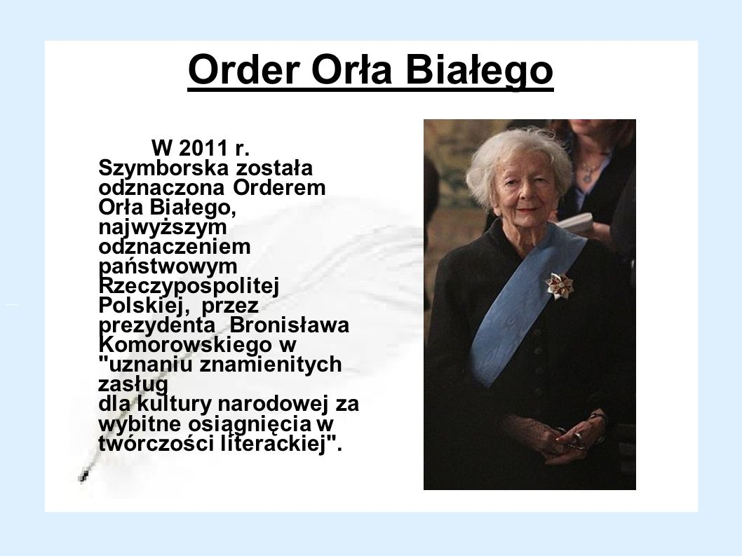 Order Orła Białego
