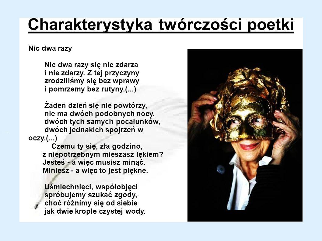 Charakterystyka twórczości poetki