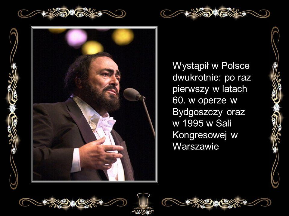 Wystąpił w Polsce dwukrotnie: po raz pierwszy w latach 60