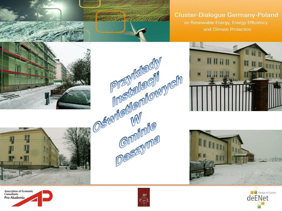 Przykłady Instalacji Oświetleniowych W Gminie Daszyna