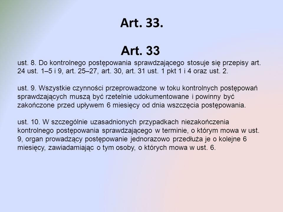 Art. 33. Art. 33.