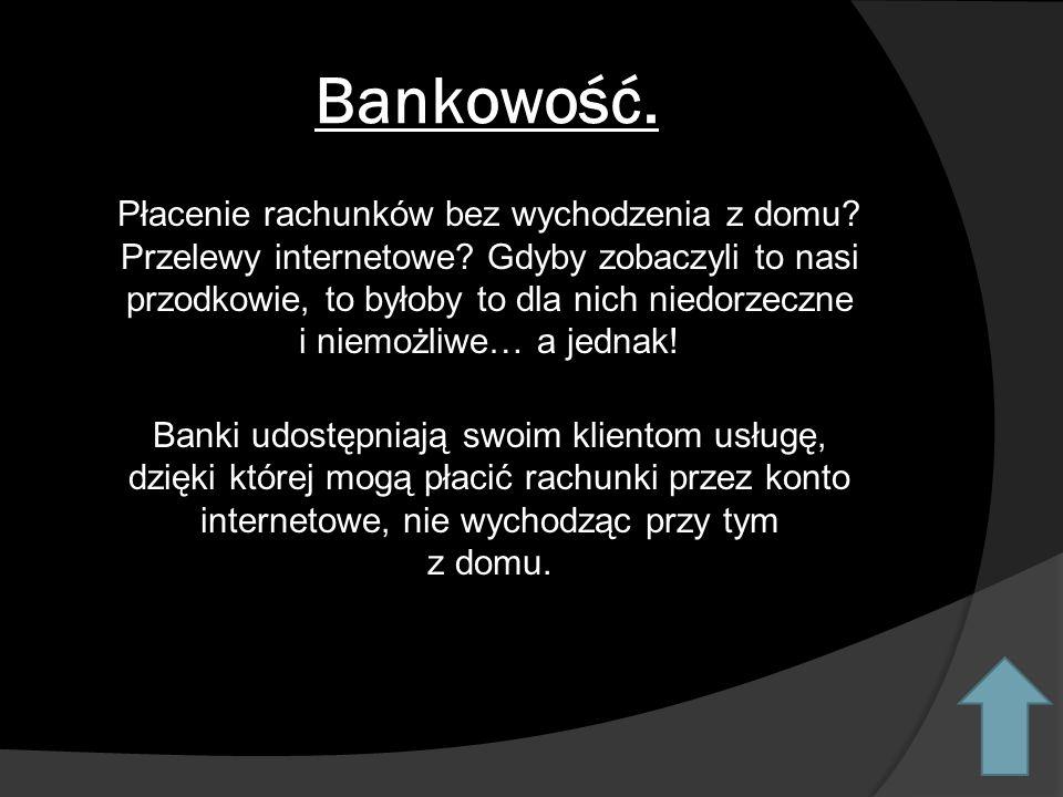 Bankowość.