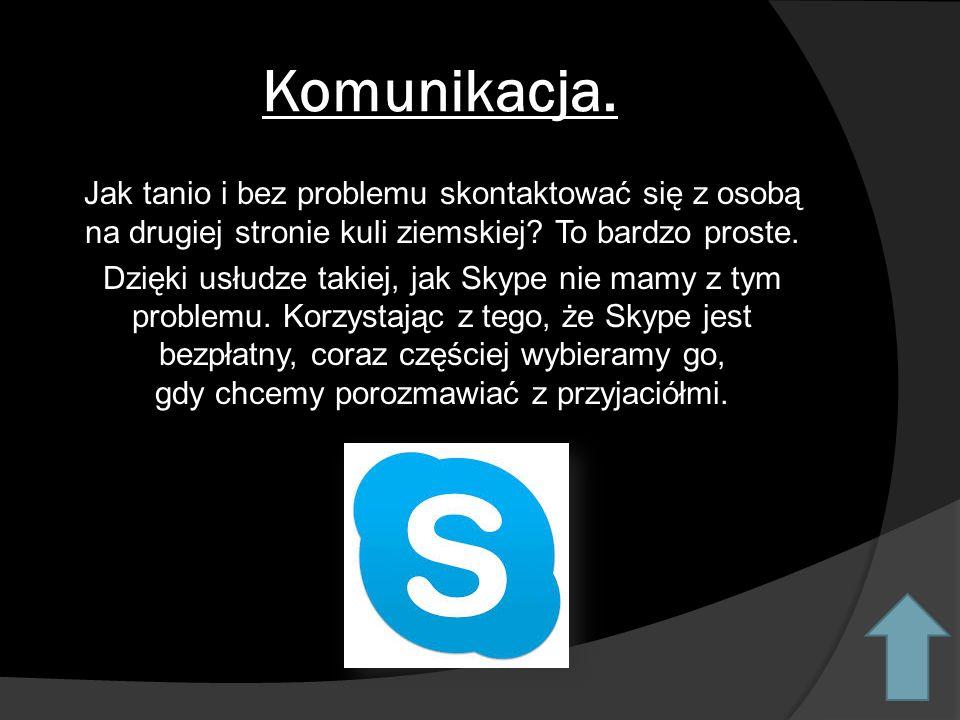 Komunikacja.