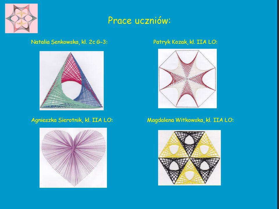 Prace uczniów: Natalia Senkowska, kl. 2c G-3: