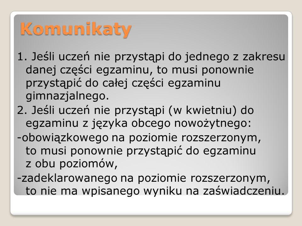 Komunikaty
