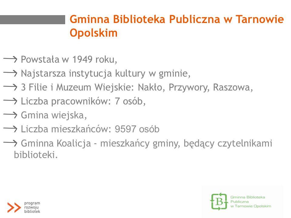 Gminna Biblioteka Publiczna w Tarnowie Opolskim