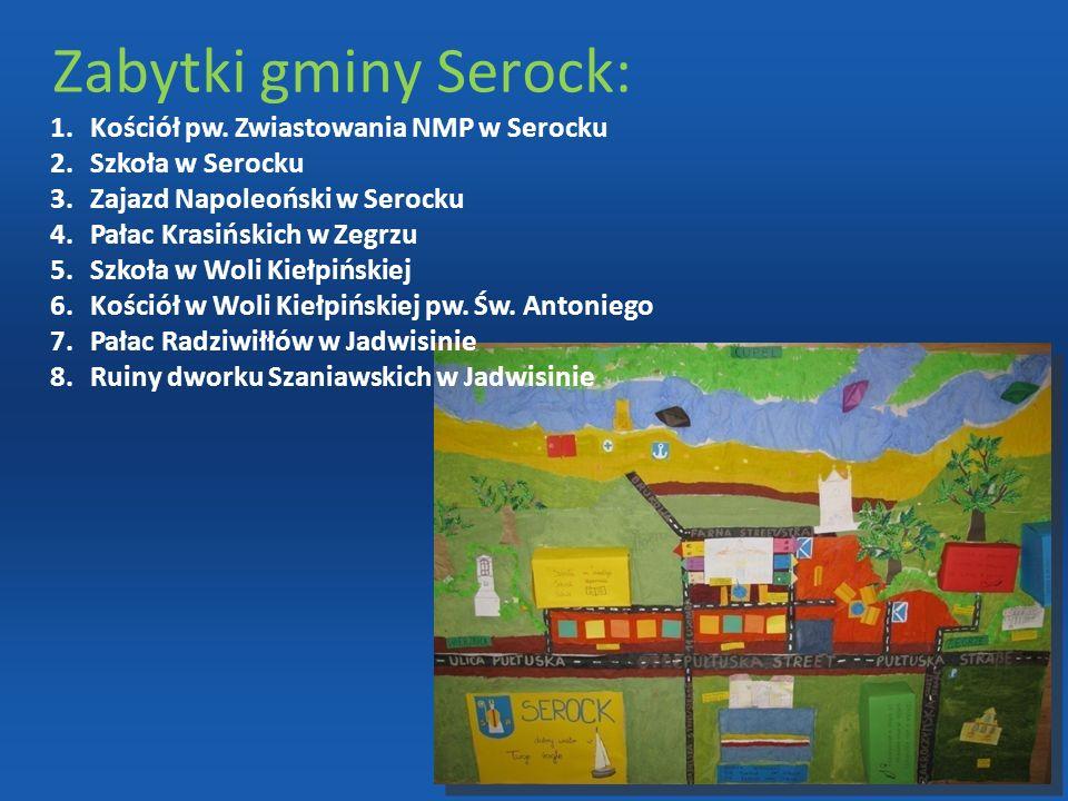 Zabytki gminy Serock: Kościół pw. Zwiastowania NMP w Serocku