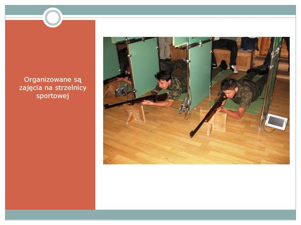 Organizowane są zajęcia na strzelnicy sportowej