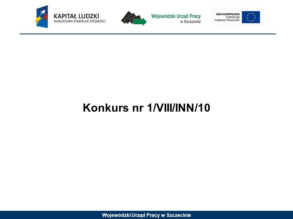 Konkurs nr 1/VIII/INN/10