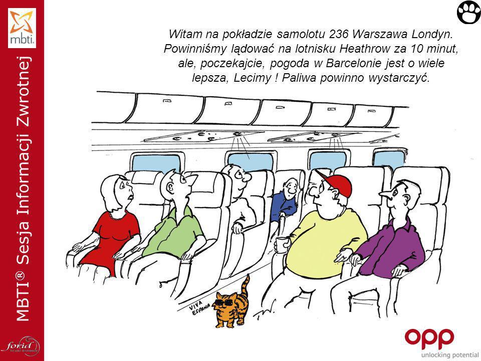 Witam na pokładzie samolotu 236 Warszawa Londyn