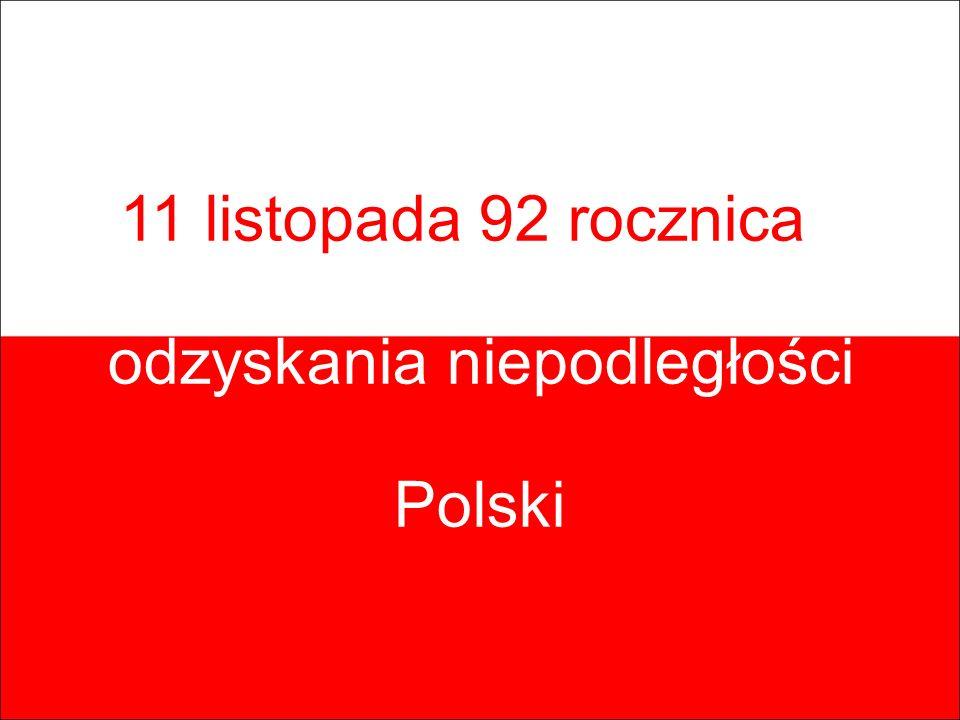 odzyskania niepodległości Polski