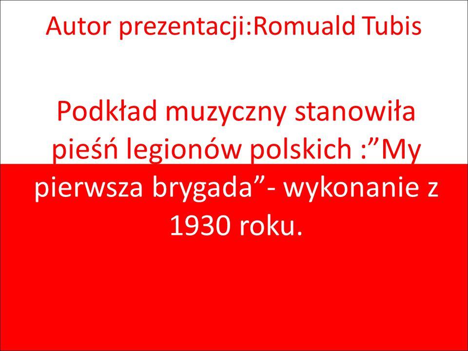 Autor prezentacji:Romuald Tubis