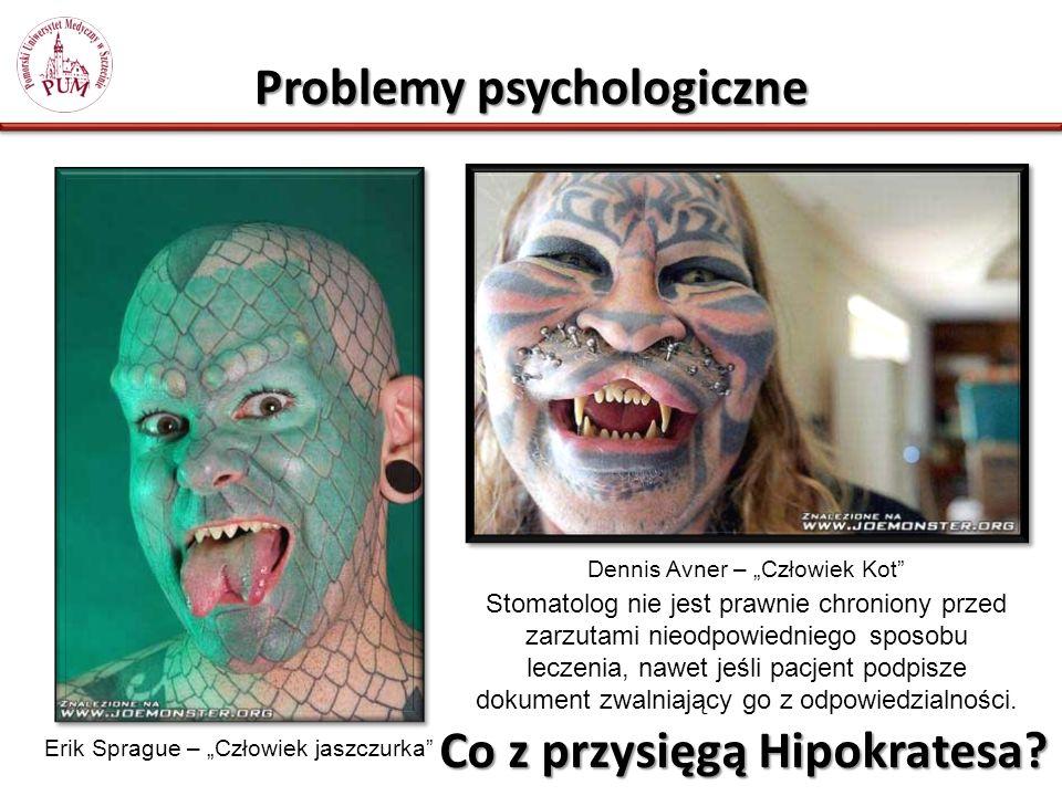 Problemy psychologiczne Co z przysięgą Hipokratesa