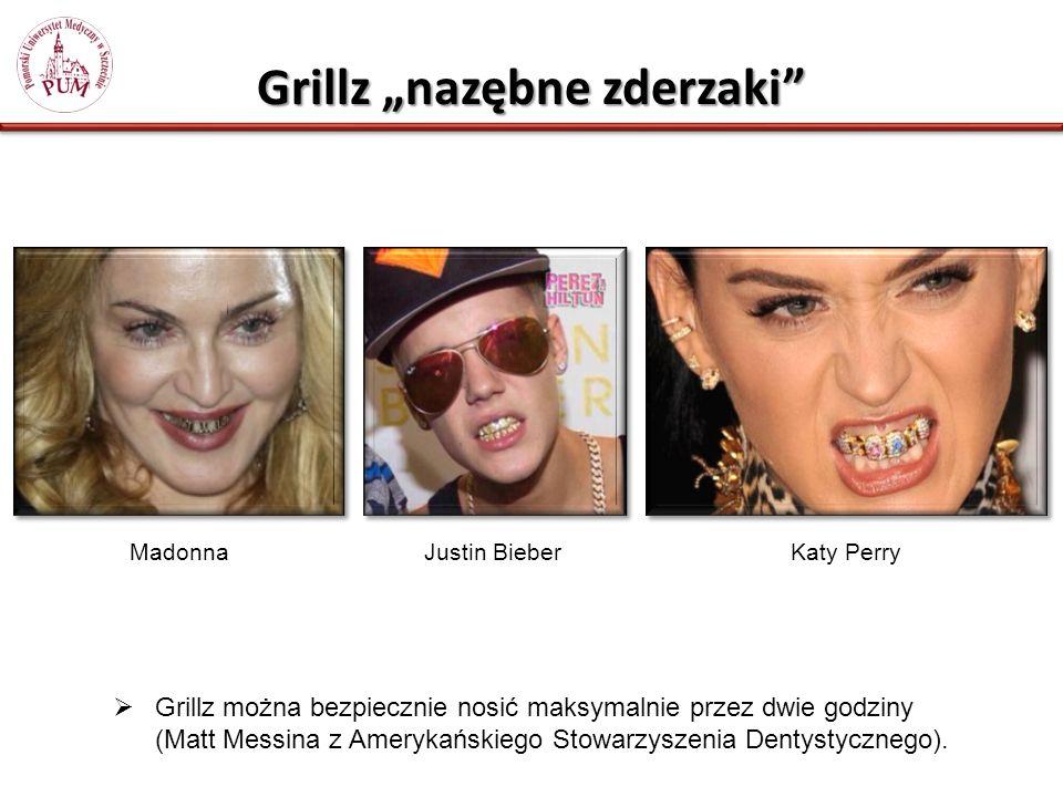 """Grillz """"nazębne zderzaki"""