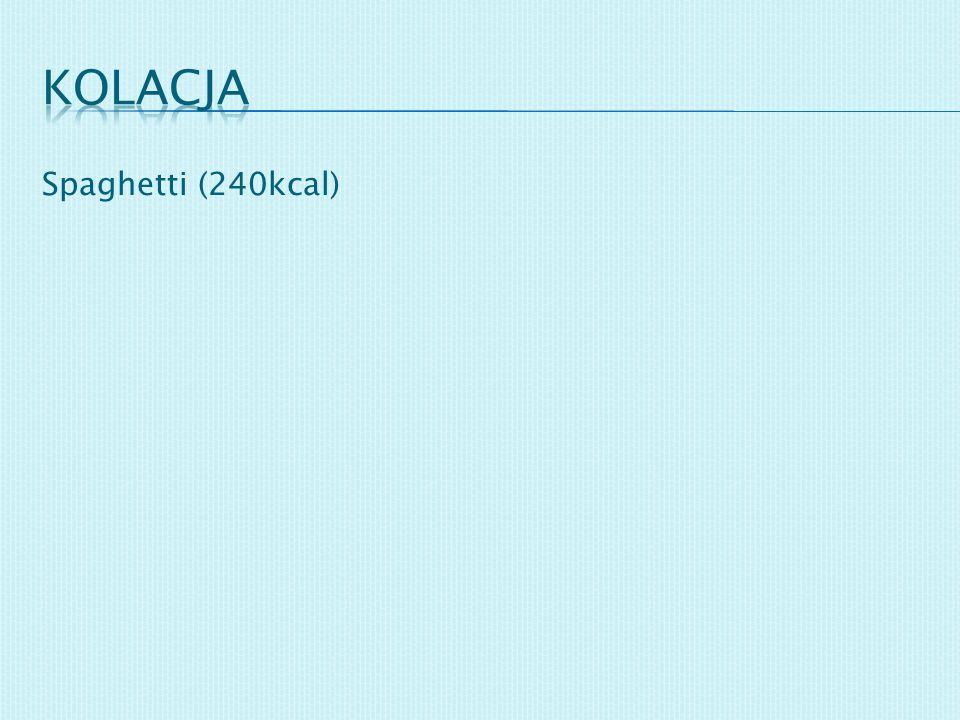 kolacja Spaghetti (240kcal)