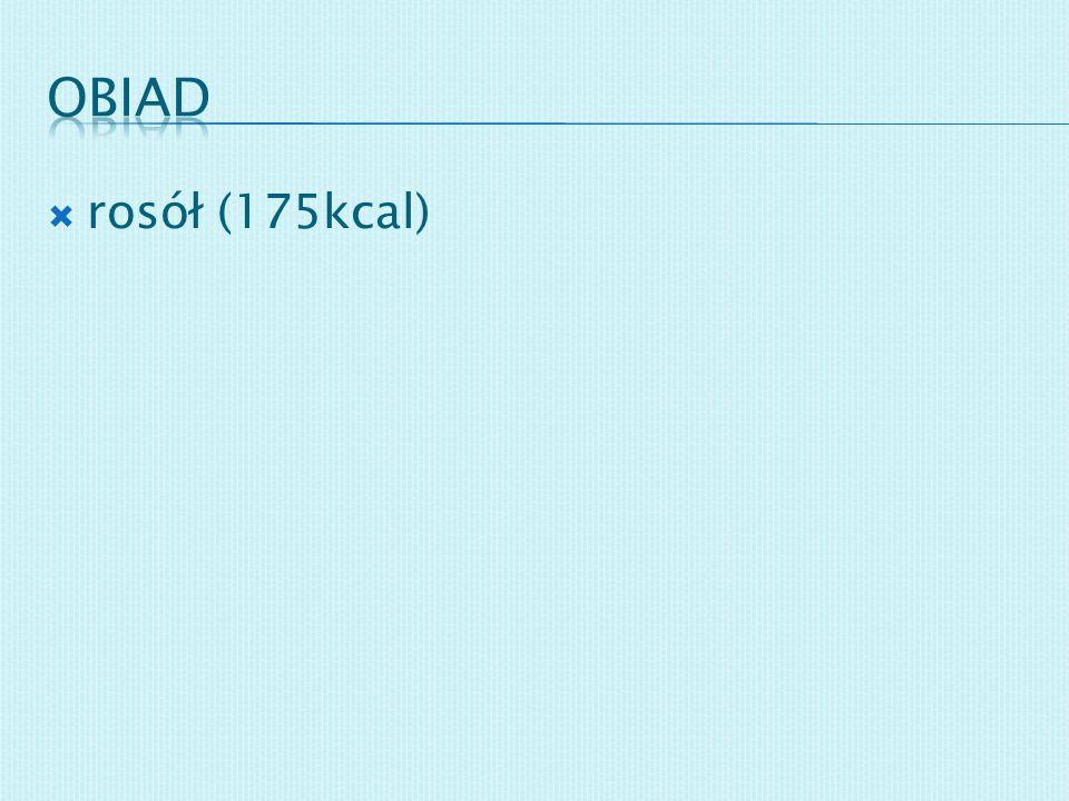 obiad rosół (175kcal)