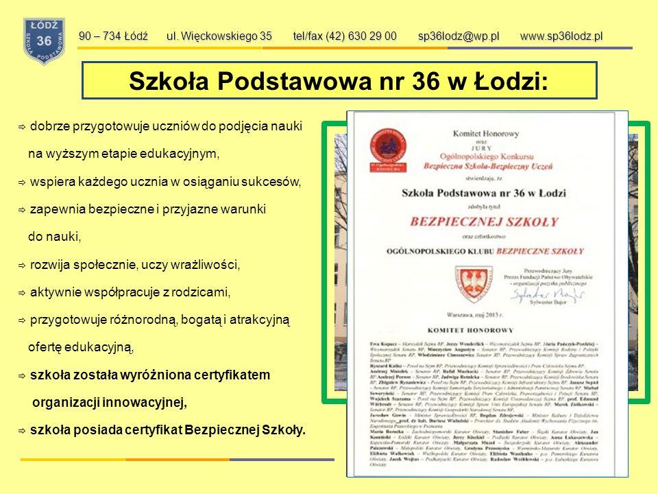 Szkoła Podstawowa nr 36 w Łodzi: