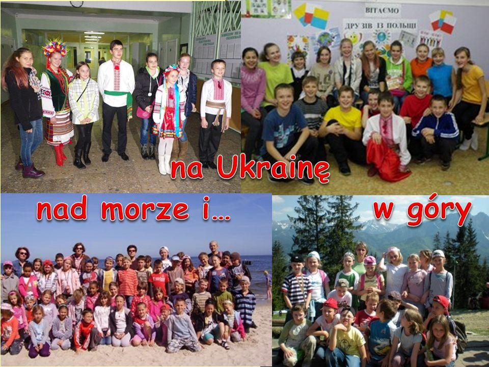 na Ukrainę nad morze i… w góry