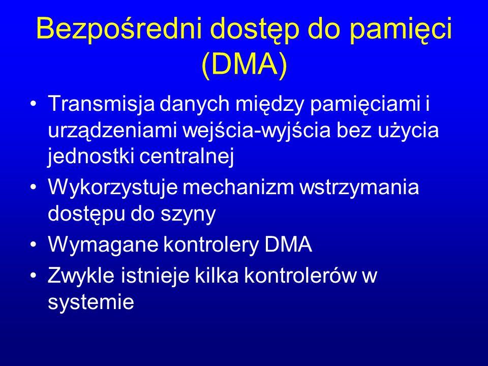Bezpośredni dostęp do pamięci (DMA)