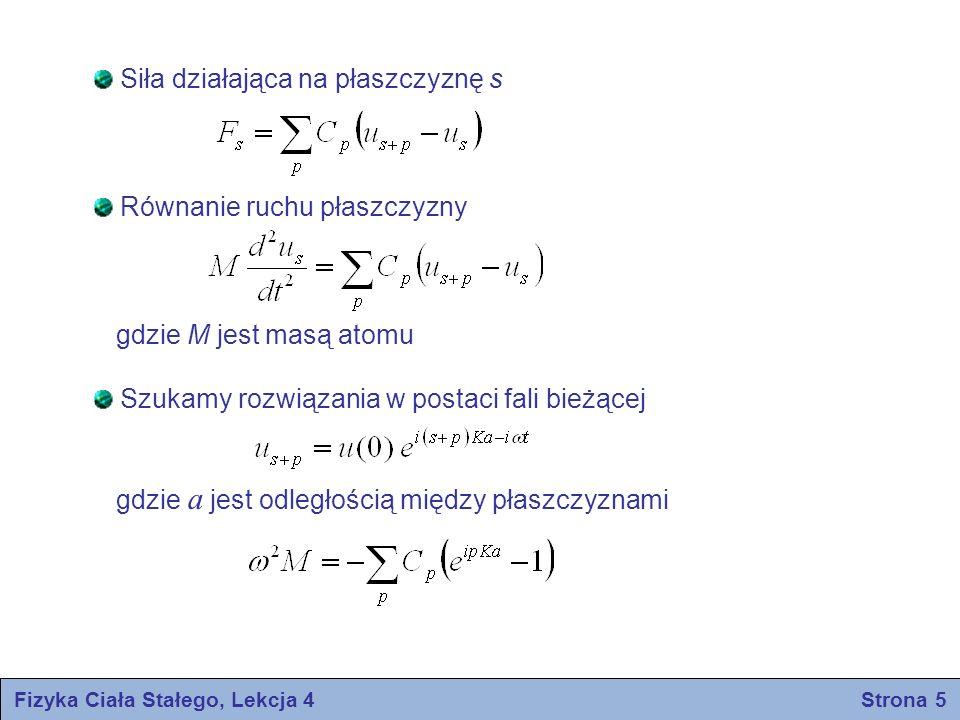 Fizyka Ciała Stałego, Lekcja 4 Strona 5