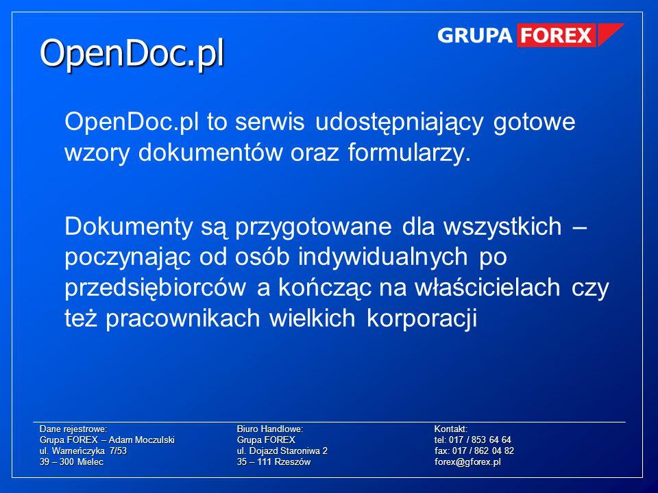 OpenDoc.pl