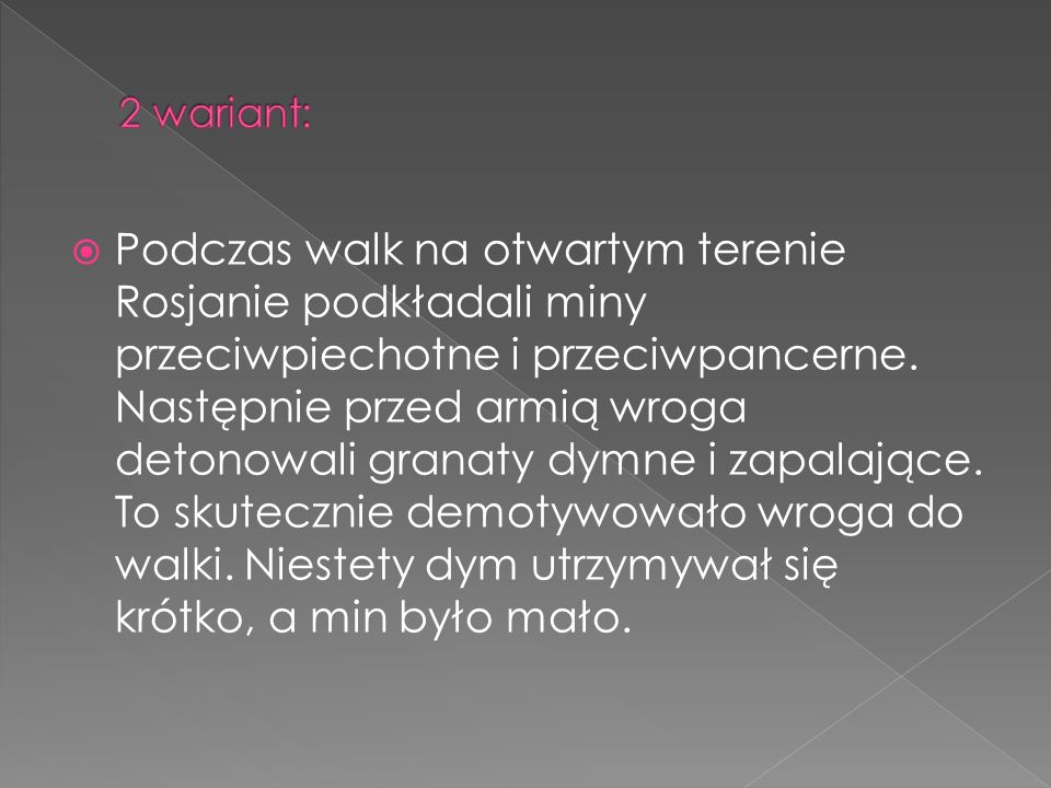 2 wariant: