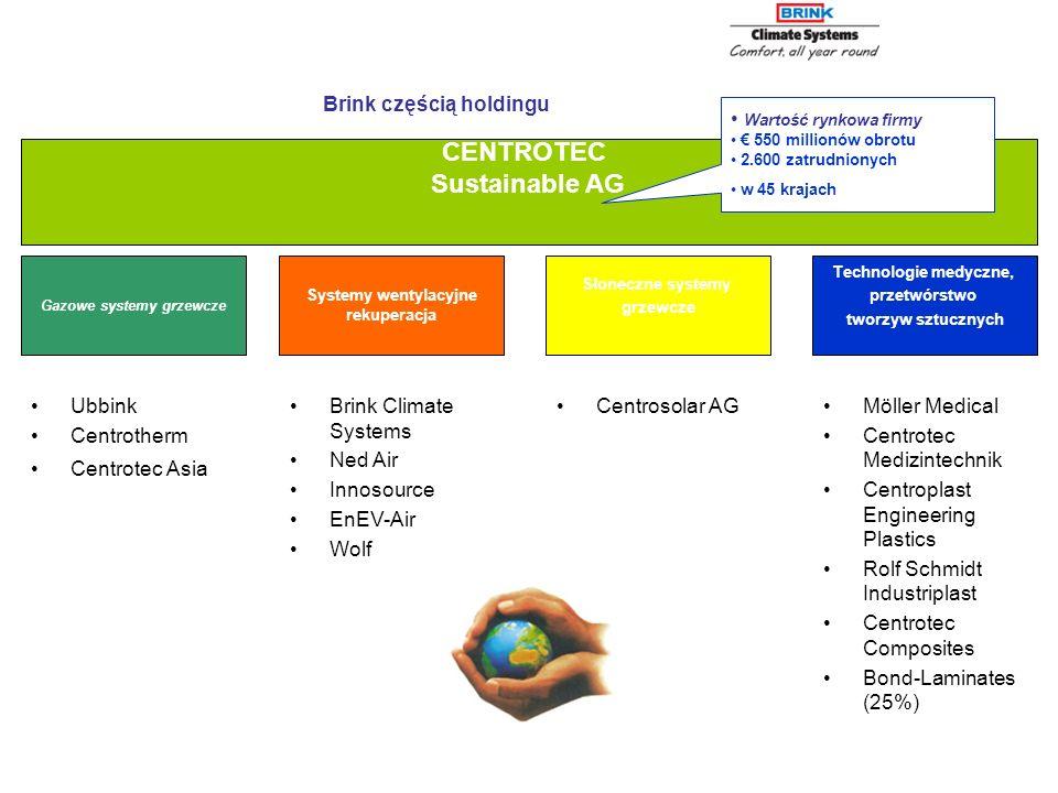 CENTROTEC Sustainable AG Gazowe systemy grzewcze