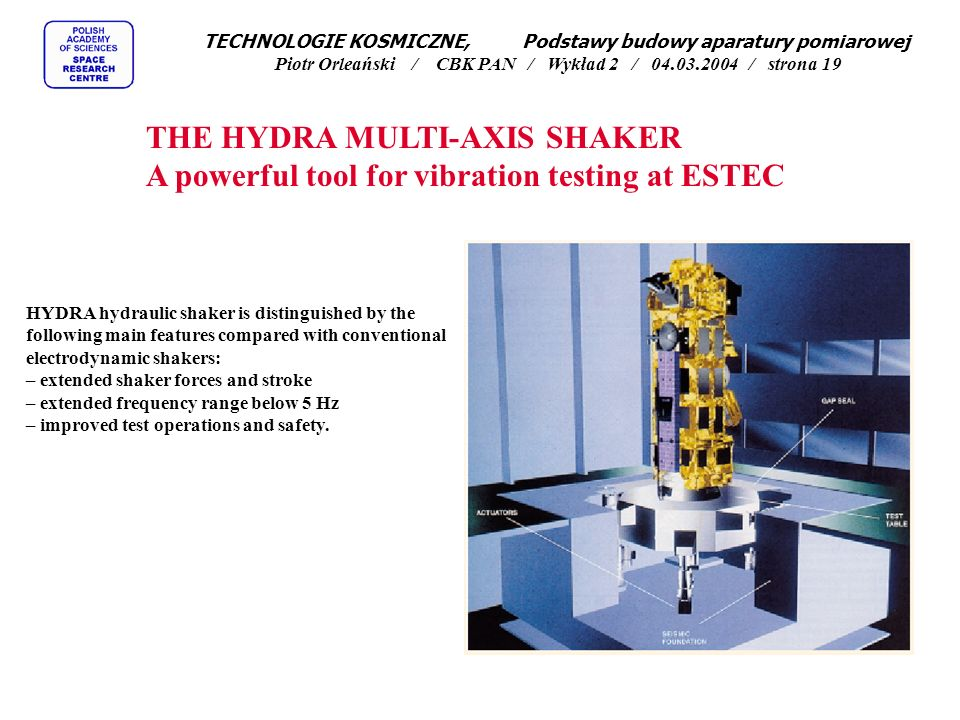 THE HYDRA MULTI-AXIS SHAKER