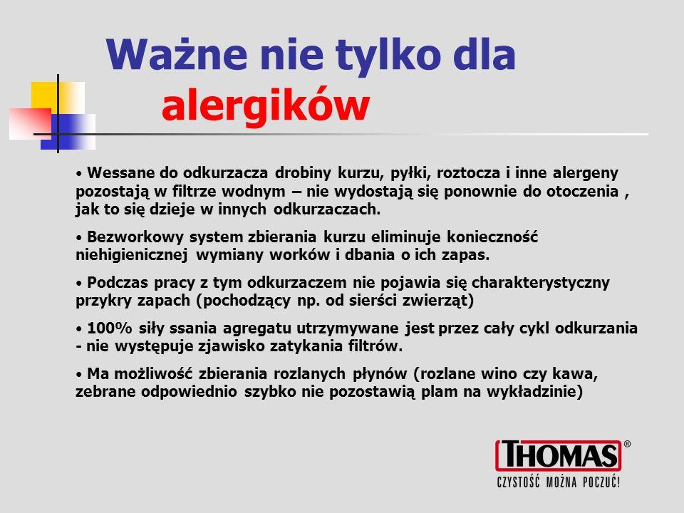 Ważne nie tylko dla alergików