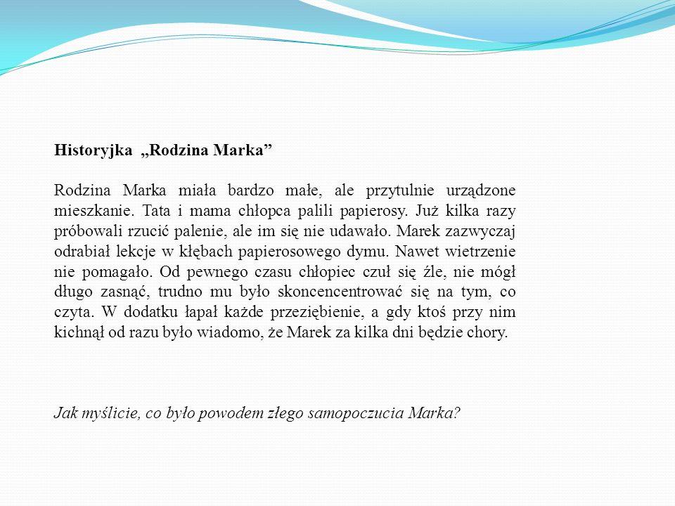 """Historyjka """"Rodzina Marka"""