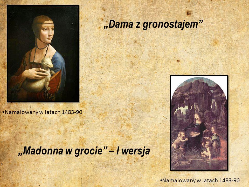 """""""Madonna w grocie – I wersja"""