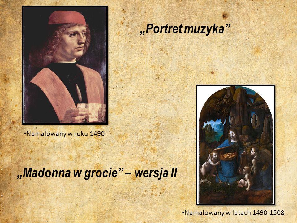 """""""Madonna w grocie – wersja II"""