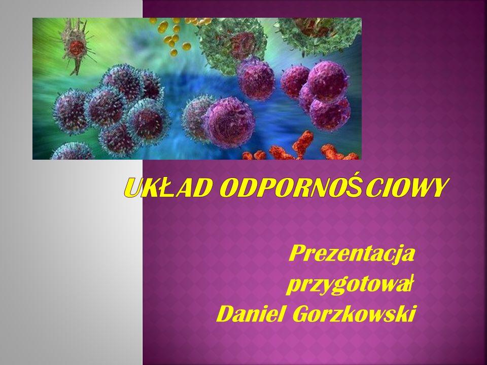 Prezentacja przygotował Daniel Gorzkowski
