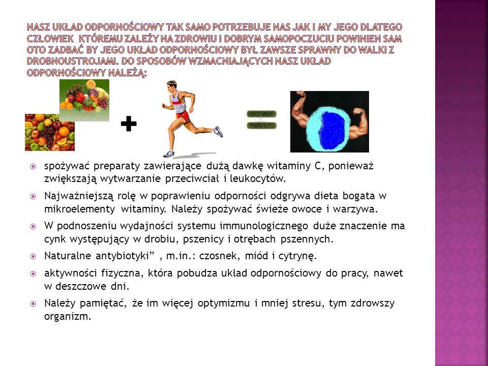 Naturalne antybiotyki , m.in.: czosnek, miód i cytrynę.