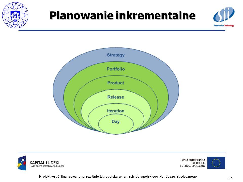 Planowanie inkrementalne