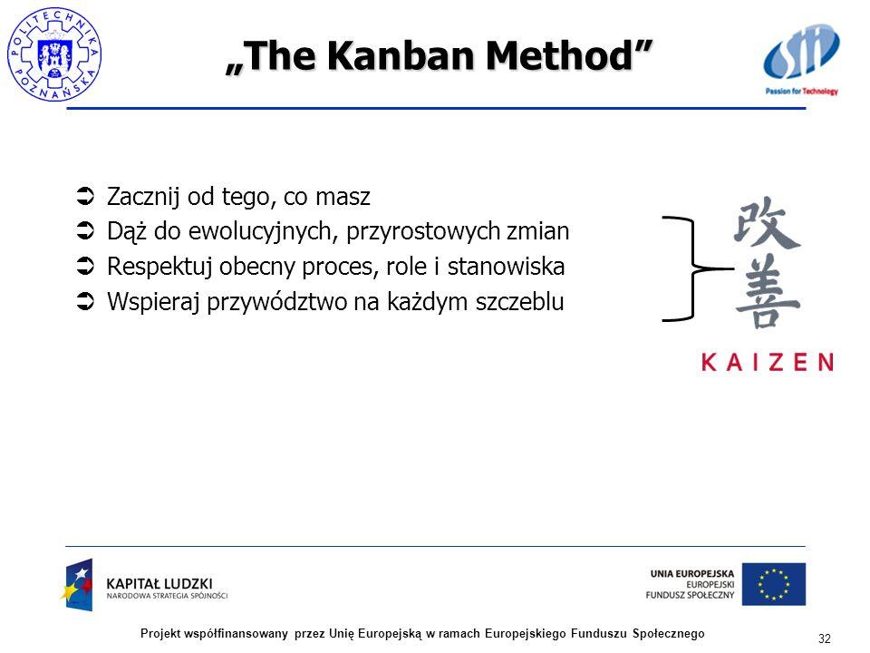 """""""The Kanban Method Zacznij od tego, co masz"""