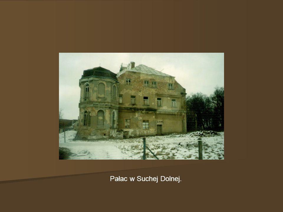 Pałac w Suchej Dolnej.