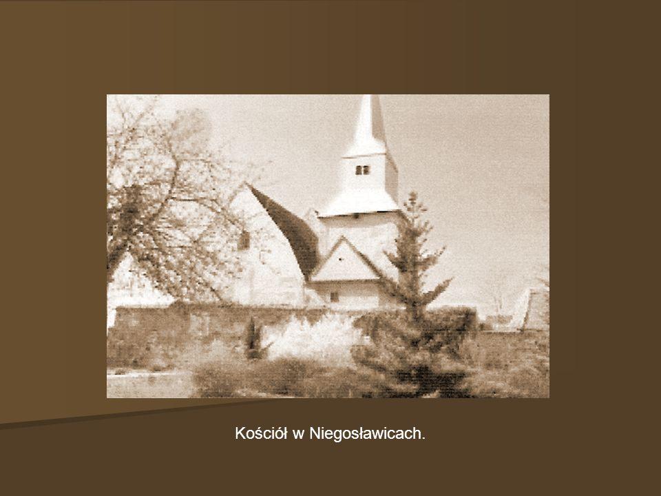 Kościół w Niegosławicach.