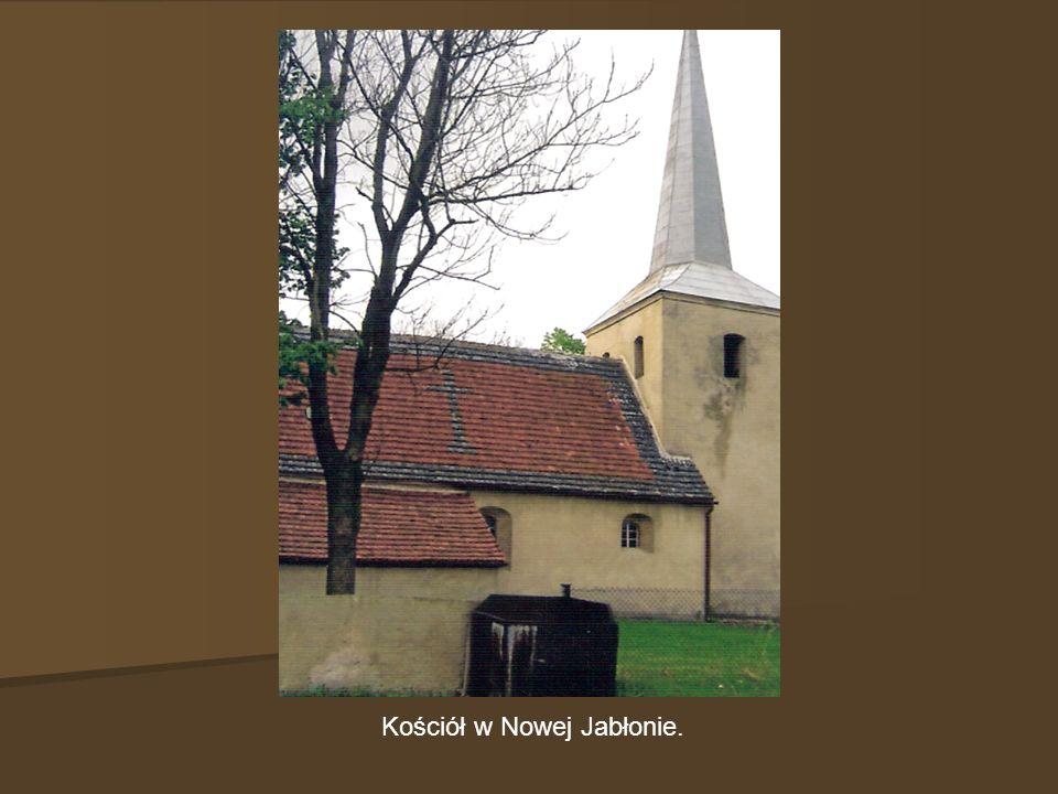 Kościół w Nowej Jabłonie.