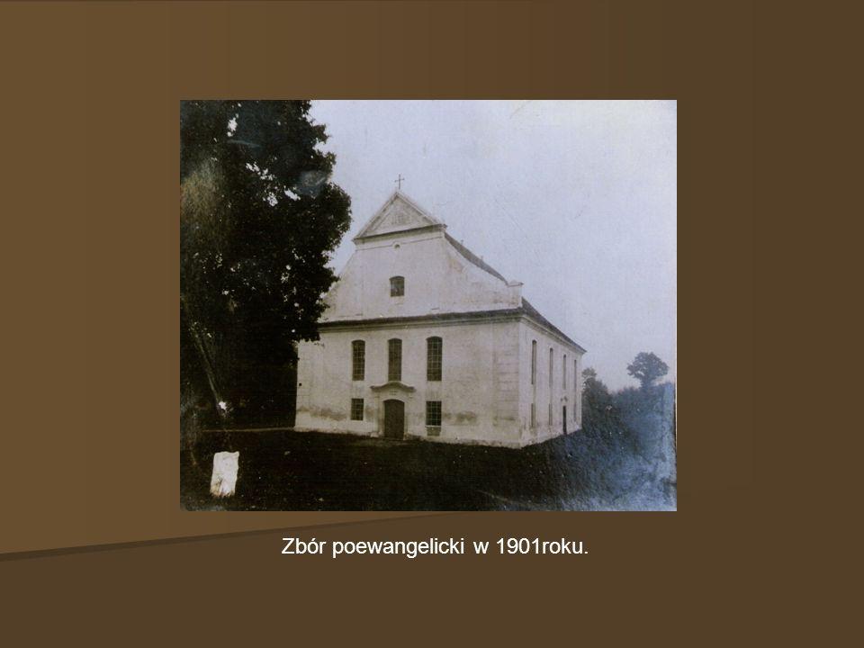 Zbór poewangelicki w 1901roku.