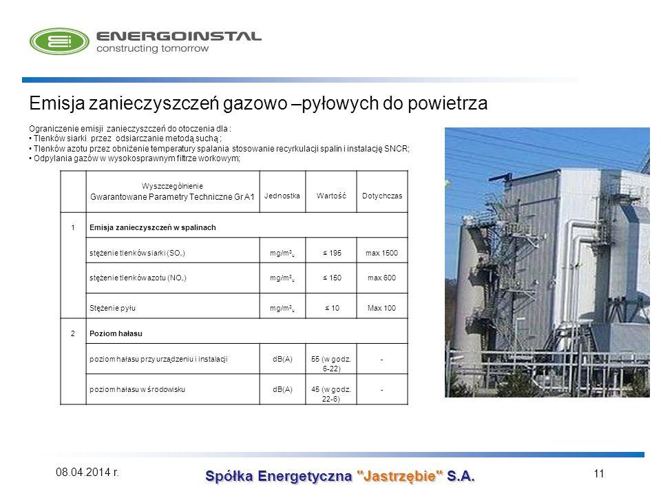 Gwarantowane Parametry Techniczne Gr A1