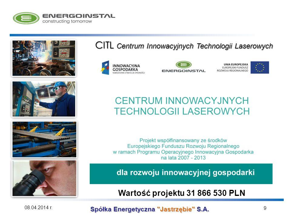 CITL Centrum Innowacyjnych Technologii Laserowych