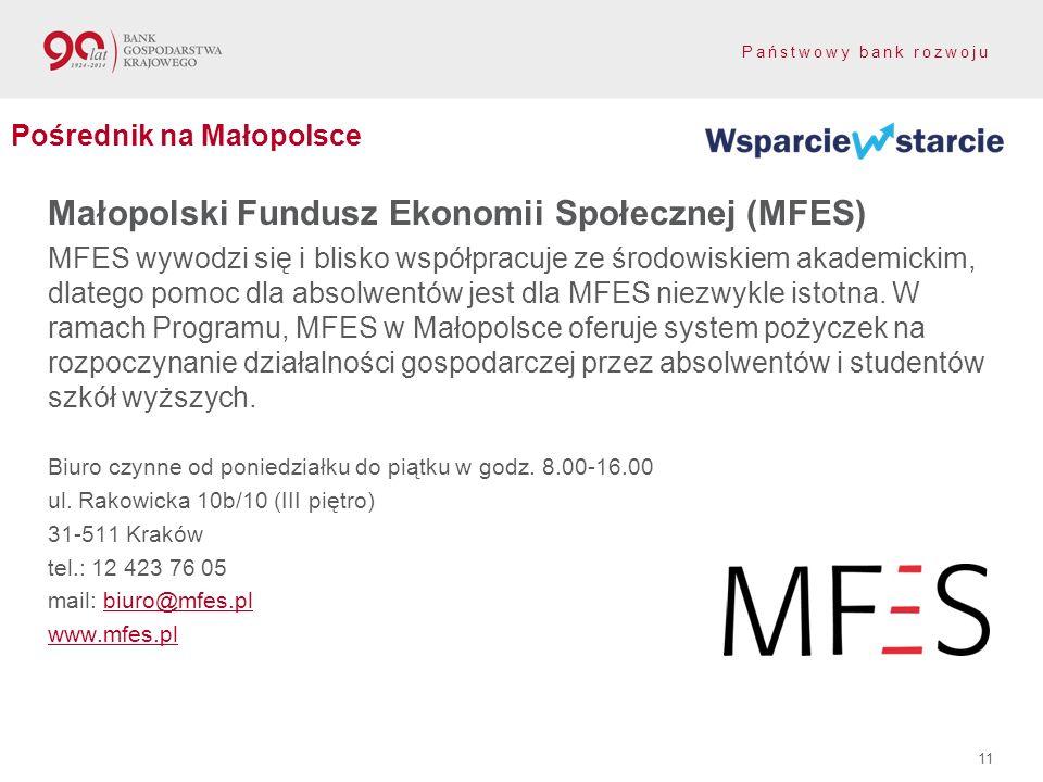 Małopolski Fundusz Ekonomii Społecznej (MFES)