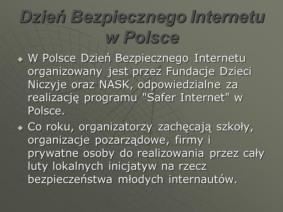Dzień Bezpiecznego Internetu w Polsce
