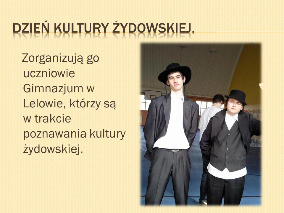 Dzień kultury żydowskiej.